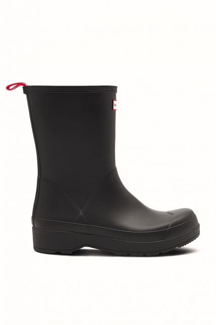 Hunter---Rainboots-for-men---Original-Play-Boots-Mid---Black