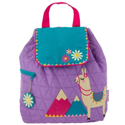 Stephen-Joseph---Quilted-backpack-for-kids---Lama