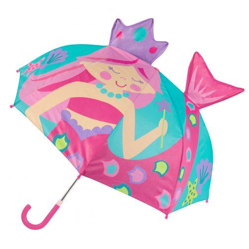 Stephen-Joseph---Pop-up-umbrella-for-girls---Mermaid---Turquoise