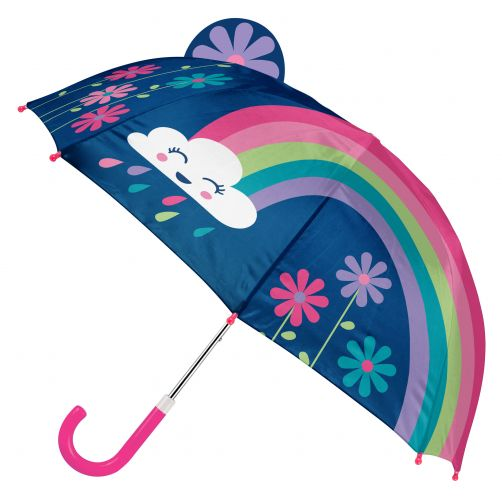 Stephen-Joseph---Pop-up-umbrella-for-girls---Rainbow---Dark-blue