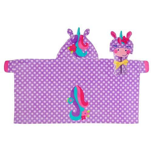 Stephen-Joseph---Hooded-towel-for-kids---Unicorn