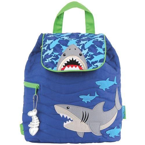 Stephen-Joseph---Quilted-backpack-for-kids---Shark