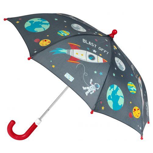 Stephen-Joseph---Color-changing-umbrella-for-boys---Space---Black