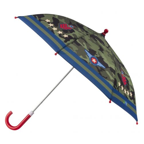Stephen-Joseph---Umbrella-for-boys---Pilot---Camouflage-green