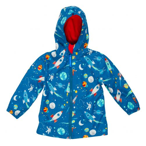 Stephen-Joseph---Raincoat-for-boys---Space---Blue