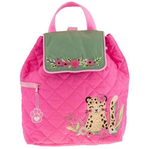 Stephen-Joseph---Quilted-backpack-for-kids---Leopard