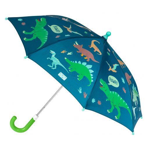 Stephen-Joseph---Color-changing-umbrella-for-boys---Dino---Dark-blue