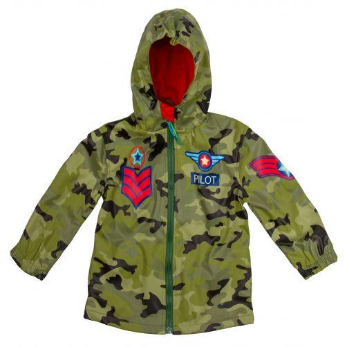 Stephen-Joseph---Raincoat-for-boys---Pilot---Camouflage-green