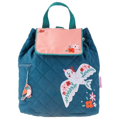 Stephen-Joseph---Quilted-backpack-for-kids---Bird
