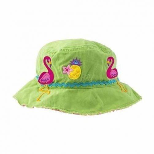 Stephen-Joseph---Bucket-hat-for-kids---Flamingo