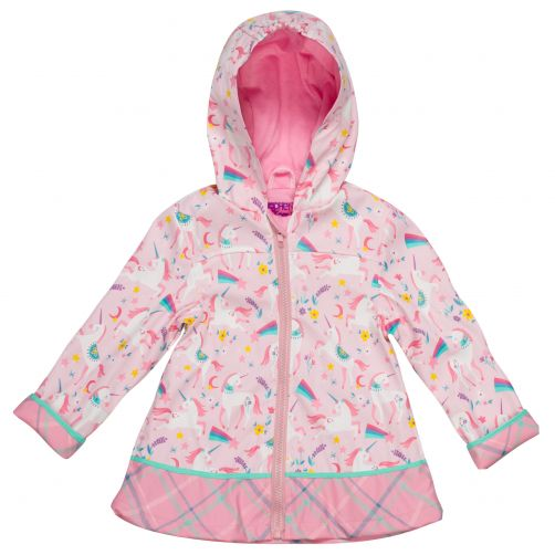 Stephen-Joseph---Raincoat-for-girls---Unicorn---Pink