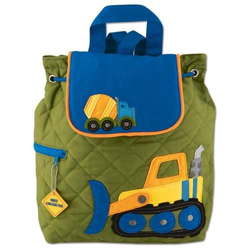 Stephen-Joseph---Quilted-backpack-for-kids---Construction