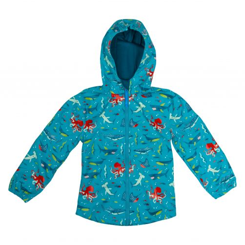 Stephen-Joseph---Raincoat-for-boys---Shark---Light-blue