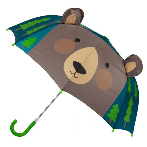 Stephen-Joseph---Pop-up-umbrella-for-children---Bear---Dark-blue