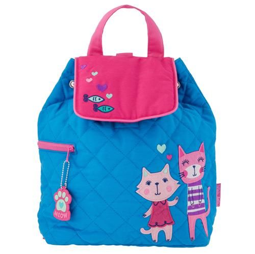 Stephen-Joseph---Quilted-backpack-for-kids---Cats