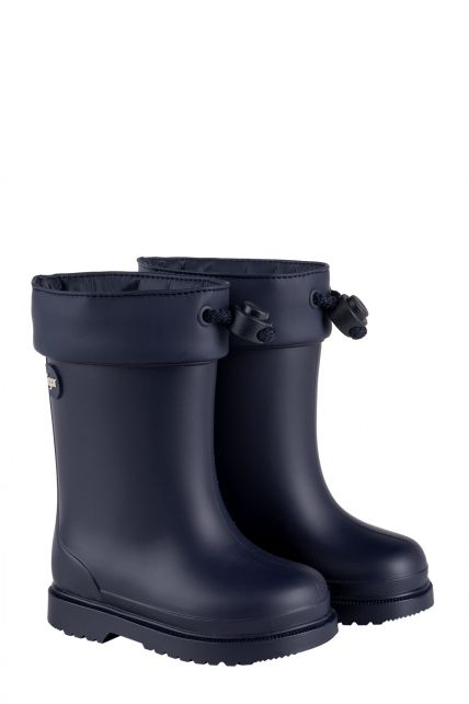 Igor---Rainboots-for-children---Chufo-Cuello-Borreguillo---Navy