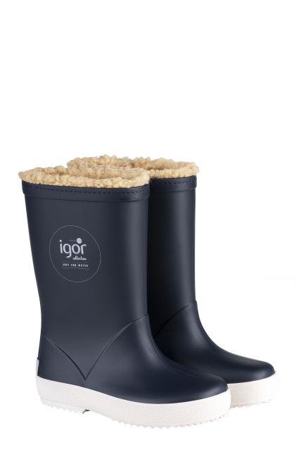 Igor---Rainboots-for-children---Splash-Nautico-Borreguito---Navy