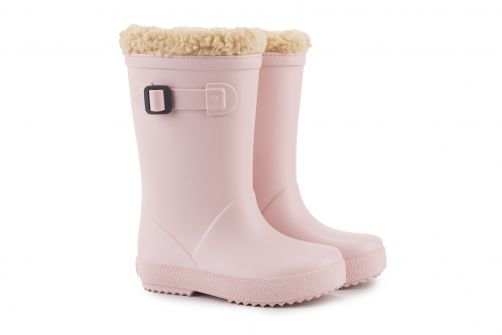 Igor---Rainboots-for-children---Splash-Euri-Borreguito---Nude