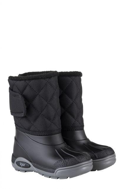 Igor---Winterboots-for-children---Topo-Ski-Nylon---Black