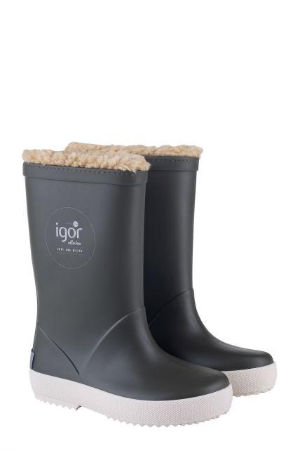 Igor---Rainboots-for-children---Splash-Nautico-Borreguito---Kaki