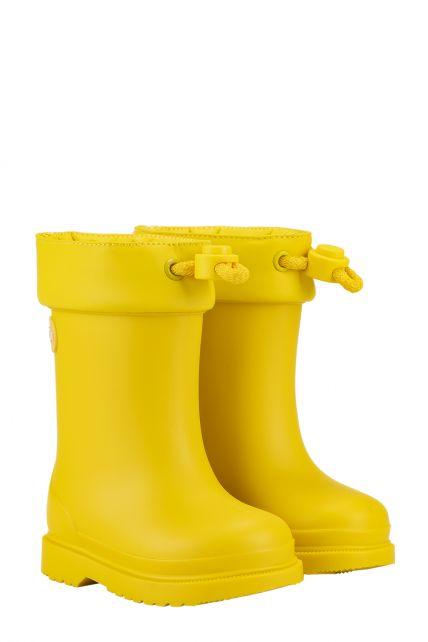 Igor---Rainboots-for-children---Chufo-Cuello-Borreguillo---Yellow