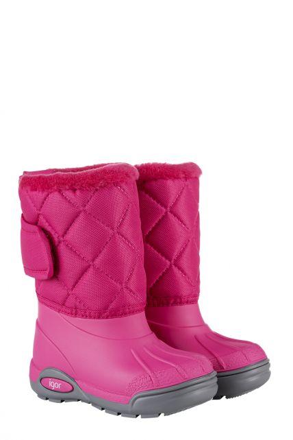 Igor---Winterboots-for-children---Topo-Ski-Nylon---Fuchsia