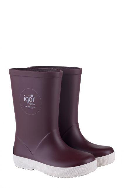 Igor---Rainboots-for-children---Splash-Nautico---Burgundy