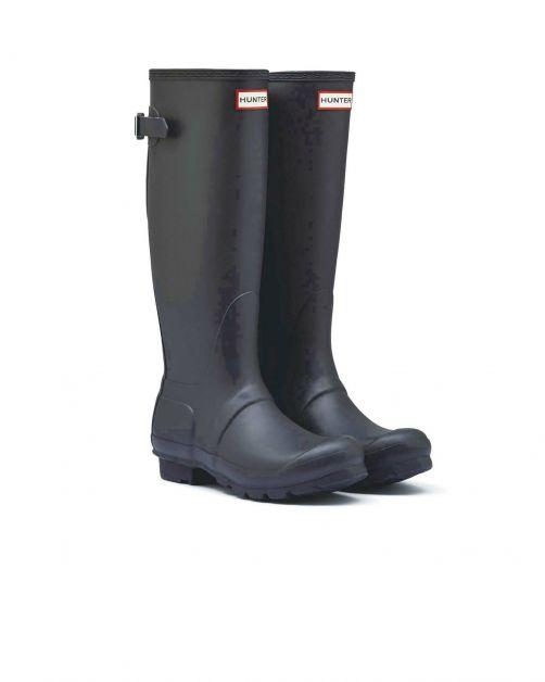 Hunter---Adjustable-rainboots-for-women---Originall-Tall---Black
