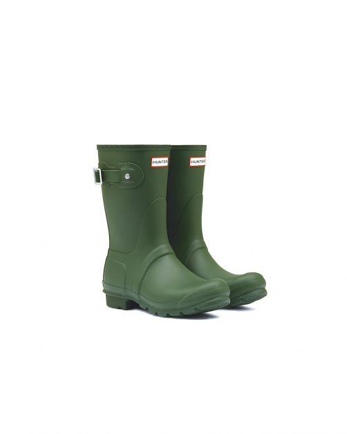 Hunter---Rainboots-for-women---Original-Short---Hunter-Green