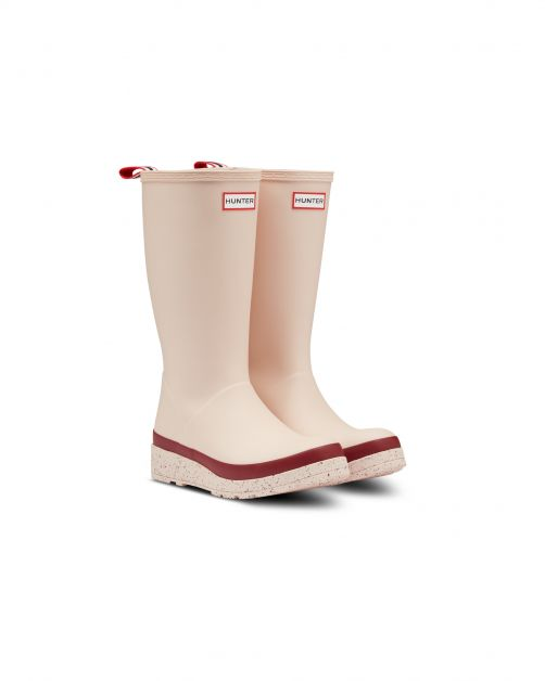 Hunter---Rainboots-for-women---Play-Tall-Speckle-Sole---Moonstone-Pine