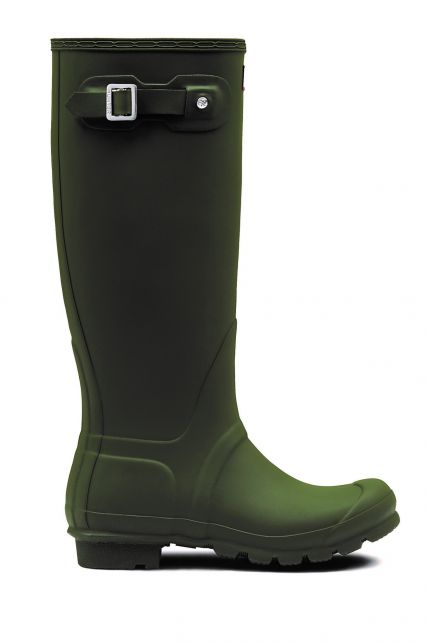 Hunter---Rainboots-for-women---Original-Tall---Dark-Olive