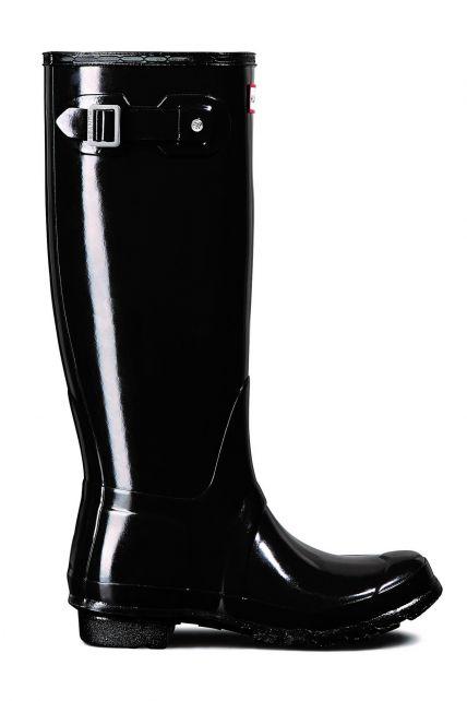Hunter---Rainboots-for-women---Original-Tall---Glossy-Black